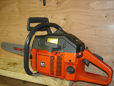 Husqvarna 61 Chainsaw With New 18 Bar Chain Runs Excellent 266 268 272 Series