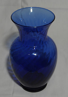 Indiana Glass Blue Vase