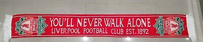 Liverpool Official 'You'll Never Walk Alone' Liverpool Football Club Est 1892