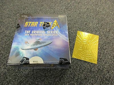 2016 Star Trek The Original Series 50th Anniversary Factory Sealed BOX w/ Promo