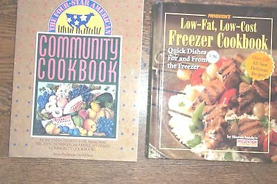 Lot Of 4 General Cookbooks-Spiral, Hc, Sc. All In Good Condition.  Nice Lot.