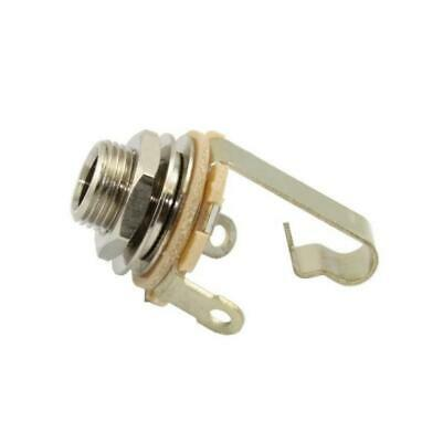"Switchcraft 1/4"" Mono Output Jack Socket for Strat Tele Gibson Epiphone Guitars"