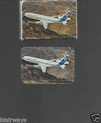 Air New Zealand Dc-10-30 Mini Playing Cards 1980's
