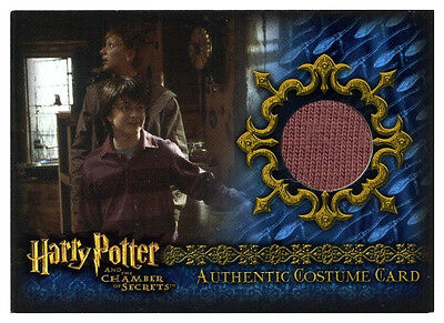 Lockhart Ron Weasley Vernon Malfoy CoS Harry Potter Costume Trading Card New