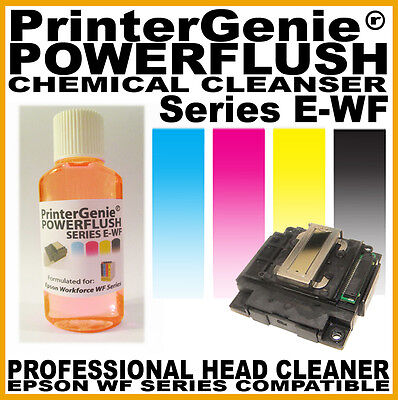 Print Head Cleaner For Epson WorkForce WF-2530WF WF2510WF- Nozzle Unblocker