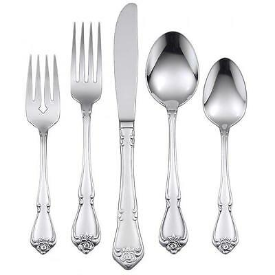 Oneida Arbor Rose 20 Piece Service for 4 Stainless Flatware
