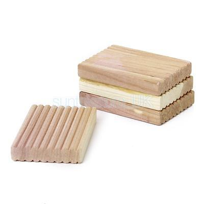 4pc Cedar Wood Cube Blocks Moth Repellent Freshens Wardrobe Drawer Clothes