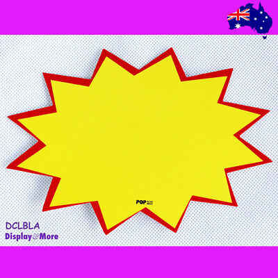 NEW 40X Retail Store Shop Paper Price Sign Card-Blank | AUSSIE Seller