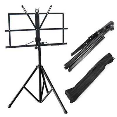 Atril Soporte de Metal para Partitura Plegable con Funda