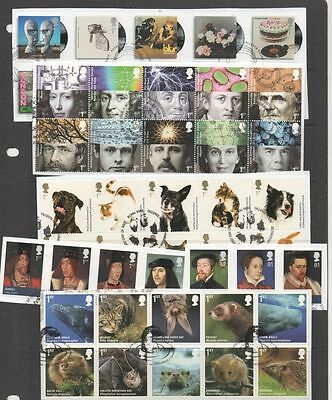 GB 1971-2010 40 complete year-sets of commemoratives on Piece all std commems