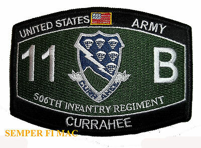 506Th Infantry Regiment Hat Patch Us Army Pin Up Band Of Brothers Airborne Fort