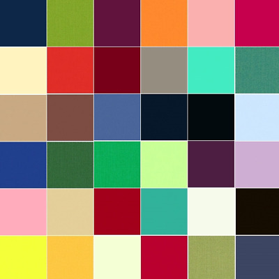 Spectrum Solid Dyed 100% Cotton Fabric Makower Quilting Patchwork Plain