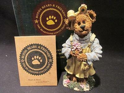 Abby T Bearymuch Yours Truly Boyds Bearstone #227742 With  Box & COA 7E/2862