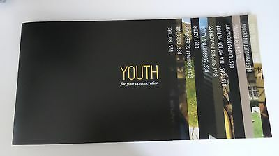 Youth Movie Beautiful Book Press Kit Fyc For Your Consideration