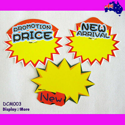 BEST Selling 30X Retail Store Shop Paper Price Sign Card | AUSSIE Seller