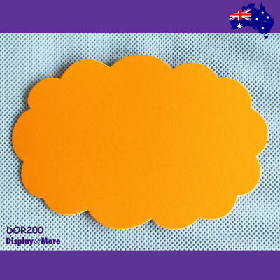 RELIABLE 30X Retail Shop Price Sign Card-9x13cm-FLURO Orange | AUSSIE Seller