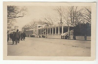 [J58025] 1913 Photograph Woodrow Wilson Presidential Inauguration Grandstand