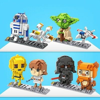 Micro Nano Blocks LOZ Diamond Blocks Building kilds Toys Star Wars Intelligence