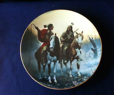 "Hamilton The Prideful Ones ""Village Markers"" US Indian plate"
