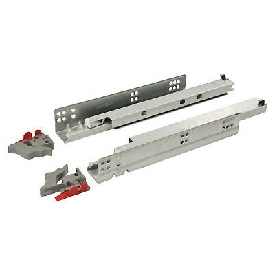 Concealed Drawer Runners- Undermount, Full Extension, Soft Close- 30KG Capacity