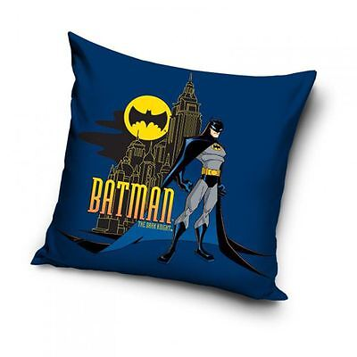 Batman Filled Cushion Double Sided Blue 100% Official New Free P+P