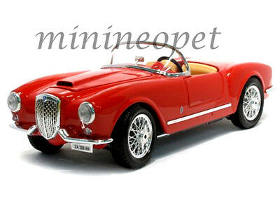 Bburago 18-12048 1955 55 Lancia Aurelia B24 Spyder 1/18 Diecast Model Car Red