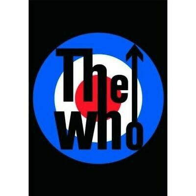New The Who Target Logo Postcard Mod Roundel Roger Daltrey Official Lp Music