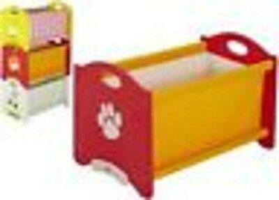 New Lion Wooden Toy Box Girl  Space Tidy