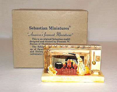 Sebastian Miniatures - Colonial Kitchen - IOB