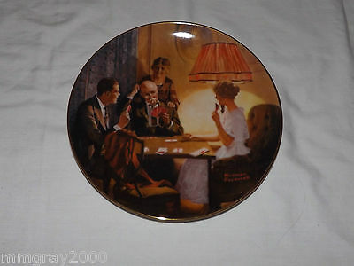Norman Rockwell Collector Plate - This Is The Room That Light Made - MIB - 1983