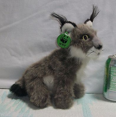 1990 APPLAUSE WWF Stuffed NORTH AMERICAN LYNX Plush CAT