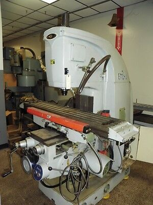 ENSHU Model VF2 Vertical Mill Milling Machine 50 Taper
