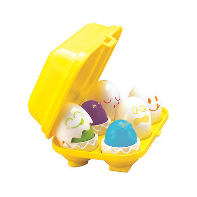 Tomy 1581 Hide 'n' Squeak Eggs Shape Sorting Child Game