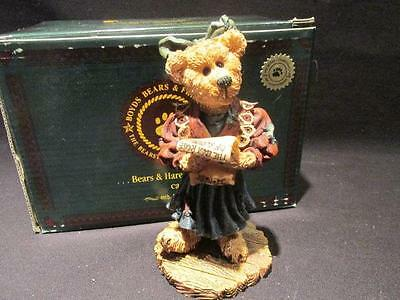 Justina the Choir Singer Boyds Bearstone #228342 With Box Special Edition 1999