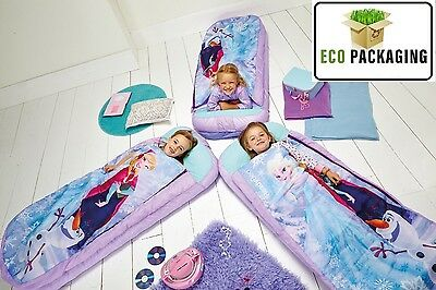 Disney Frozen Junior Ready Bed -Sleepover Solution Sleeping Bag Readybed