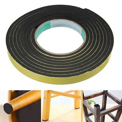 3mx15mmx5mm Rectangle Weather Stripping Sponge Foam Rubber Strip Tape Door Seal