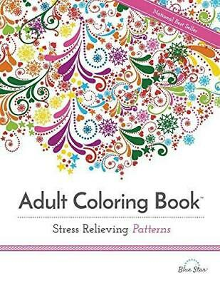 Pattern Designs Adult Colouring Book Art Therapy Anti Stress Relaxing Creative
