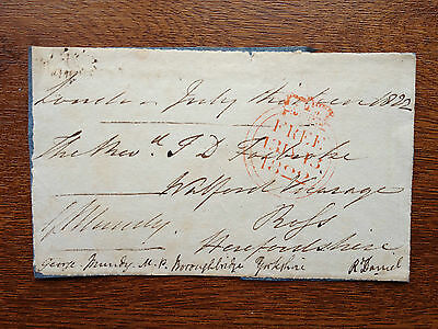 Admiral Sir George Mundy - Served In Many Conflicts  - Signed Envelope Front