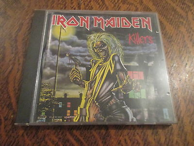 cd album iron maiden killers