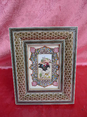 Pretty Picture___orient___Miniature painting__Beautiful Frame____