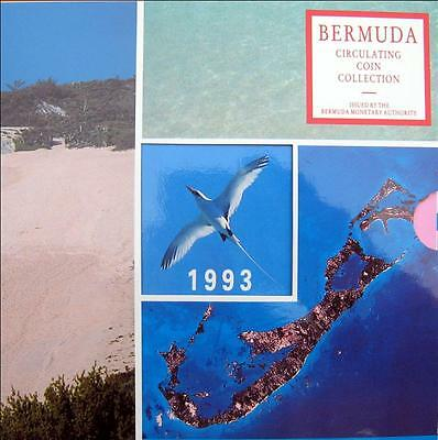 1993 Bermuda Brilliant Uncirculated Coin Collection Set Mint Sealed