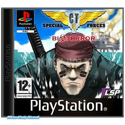 PlayStation CT Special Forces 3 - Bioterror - NEU + OVP