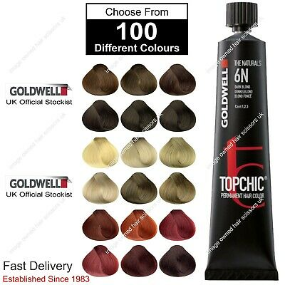 Topchic Permanent Hair Colour Tint Goldwell 60ml. We Stock All Colours. List 2