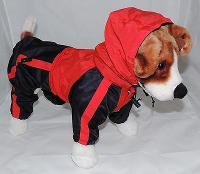 Dog Waterproof Raincoat / Slicker With Hood - 10 Sizes - Clothes ~ RAIN COAT