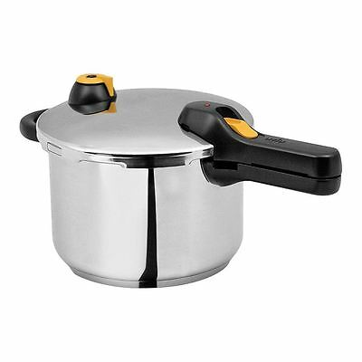 Silampos Speciality Cookware 24cm Easy Pressure Cooker, 6L - SV42
