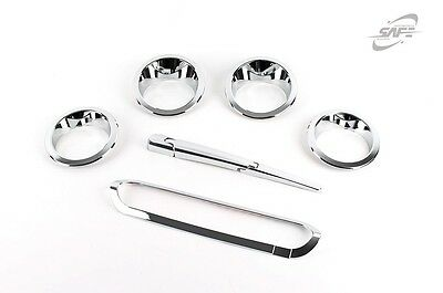 For Kia Soul 2014+ Chrome Exterior Styling Trim  Set