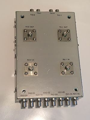 INTERESTING SMA TO REVERSE SMB RF JUNCTION / COMBINING / DISTRIBUTION BOX ad2h1