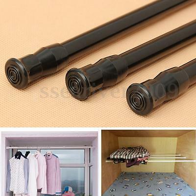 Extendable Adjustable Spring Tension Rod Pole Window Curtain Shower Bathroom