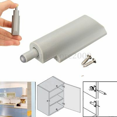 5x Cabinet Hinges Cupboard Kitchen Door Dampers Buffer Soft Closer Cushion Stops