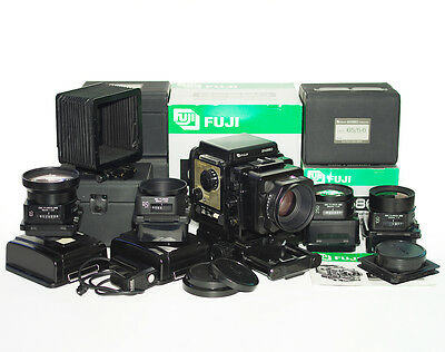 Fujifilm Fuji GX680  Professional Medium Format with 5 lens and accessories